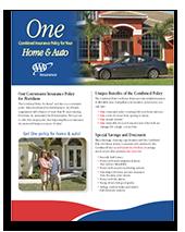AAA Home & Auto Insurance brochure